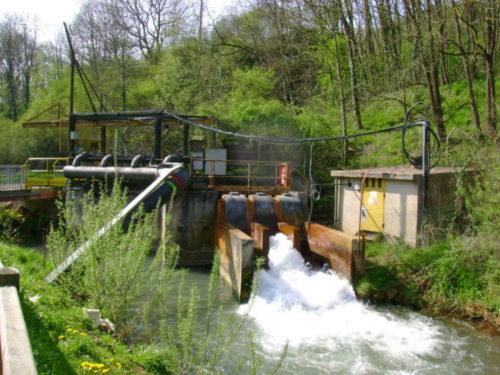 Exhaure dans la Fensch : rejet des eaux induits par l'activité minière
